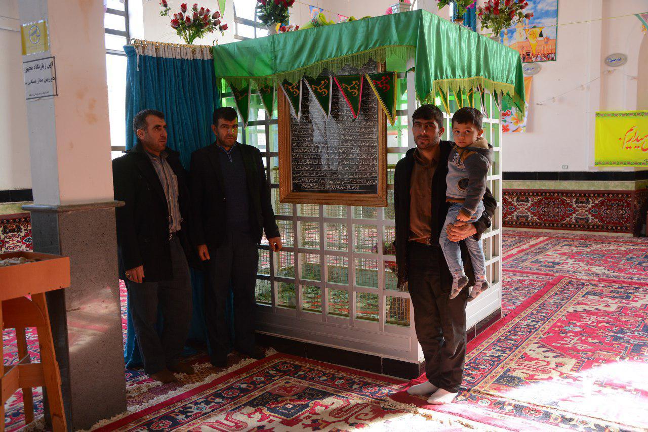 ضریح مسجد و زیارتگاه محمد حنفیه مایان سفلی