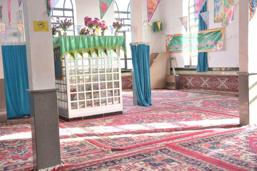 عکس های جدید از زیارتگاه و مسجد سید محمد حنفیه مایان